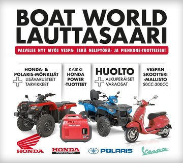 boat world huolto 2019