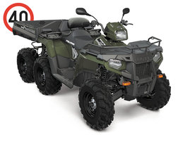 2017 SPORTSMAN 6X6 BIG BOSS 570 EPS