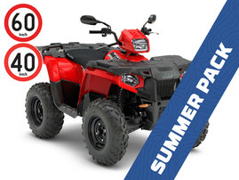 SUMMER PACK: 2018 SPORTSMAN 570 EFI 4x4 - T3b