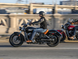 2015-Indian-Scout-black-action