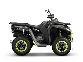 Segway Snarler ATV-S Black-Green 2021 004