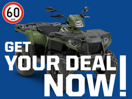 GET YOUR DEAL NOW- SPORTSMAN 570 EFI EPS 4x4