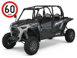 RZR_XP_4 1000_StealthGray_Tractor_3q